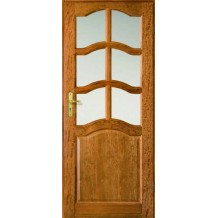 PROMOTION oak door with the frame and handle
