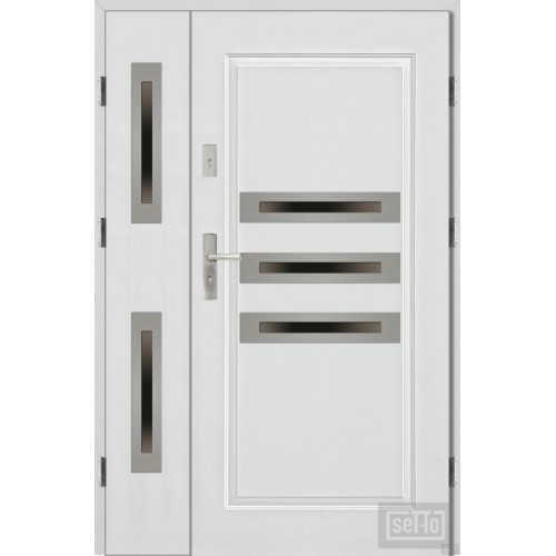 SECURITY DOUBLE DOORS J-TYTANIUM