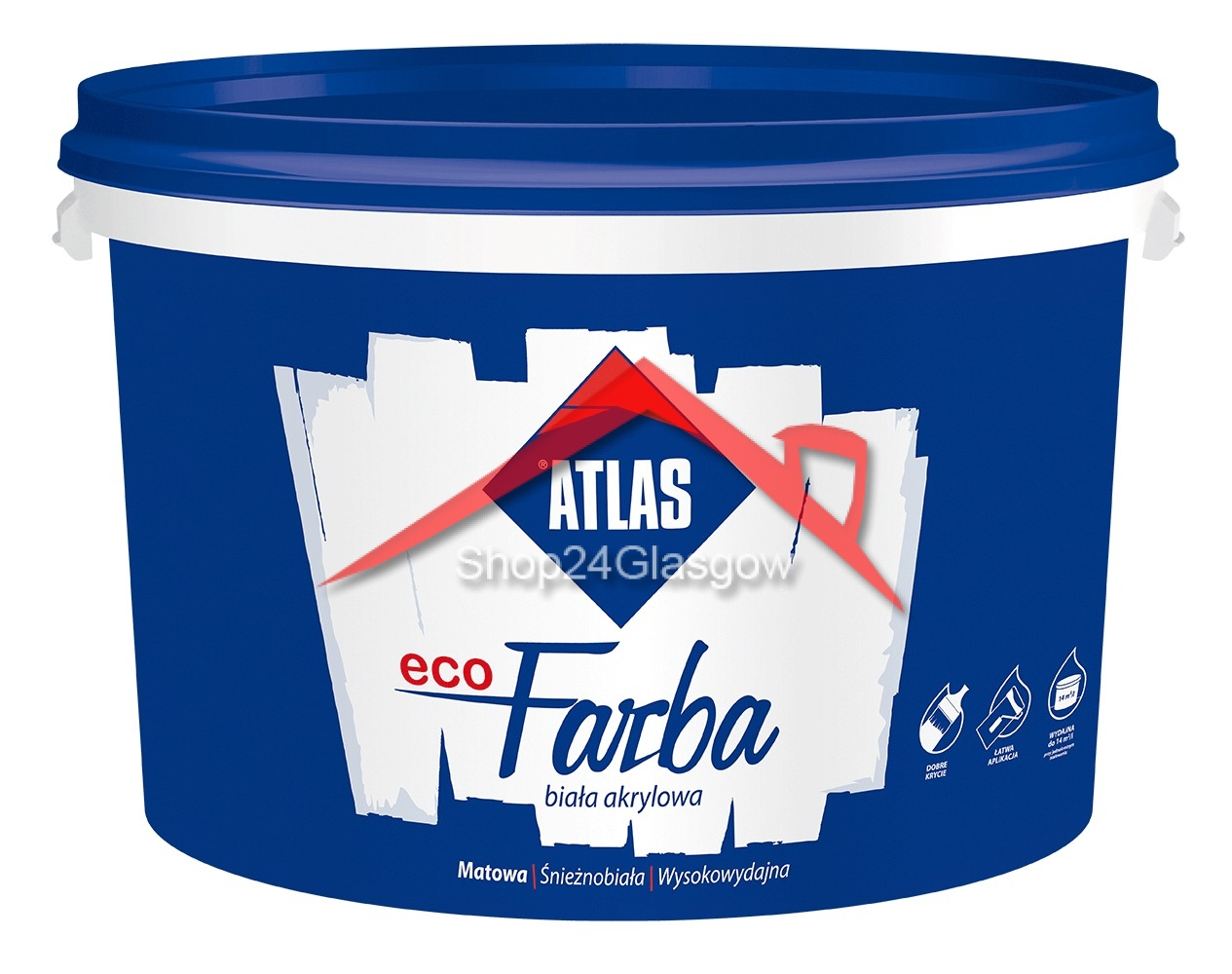 Atlas Eco Paint 10l House Windows Doors Ltd