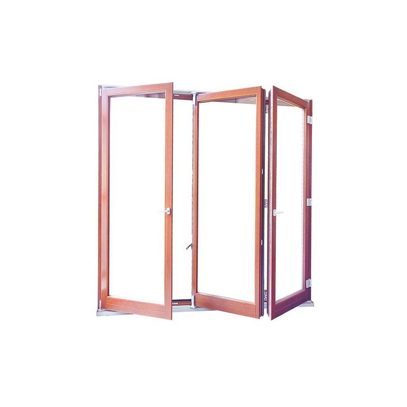 Drzwi drewniane harmonijkowe