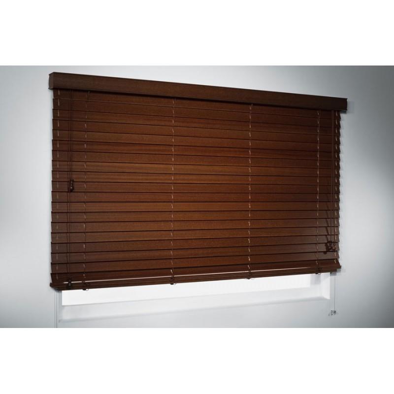 żaluzja drewniana 50mm, COLONIAL 100x100