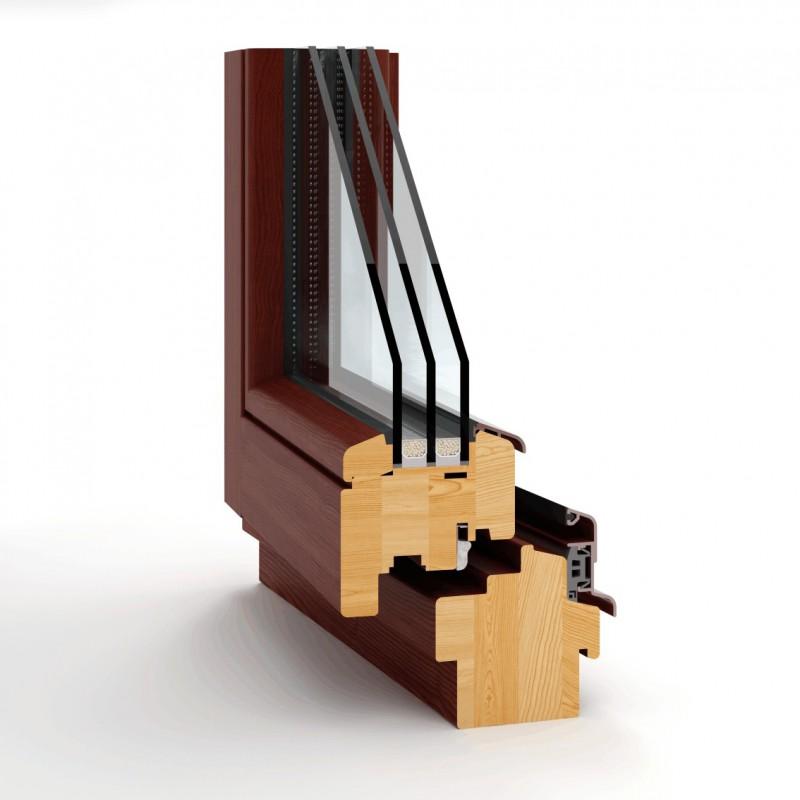 Okno drewniane Thermoline 78
