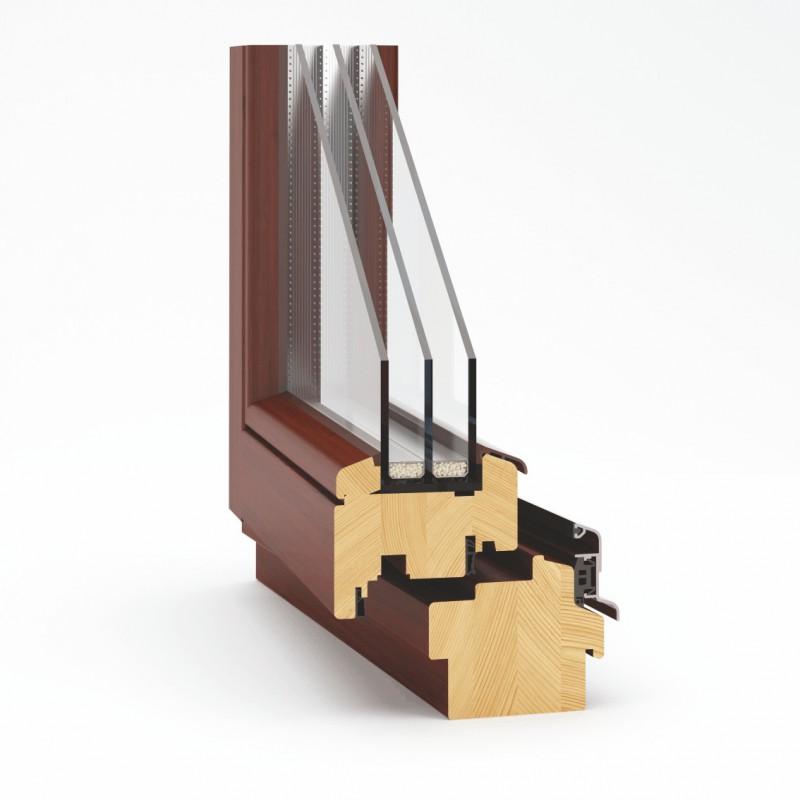 Okno drewniana EcoTherm 92